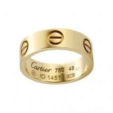 Replik Cartier Love Ring Gelbgold B4084600