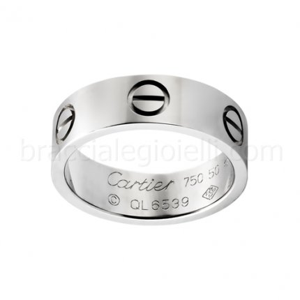 Replik Cartier Love Ring Weißgold B4084700