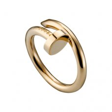 imitation Cartier Juste un Clou ring in pink gold B4092500