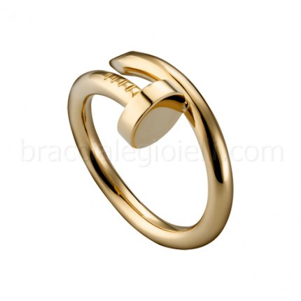 Replica Cartier Juste un Clou ring in yellow gold B4092600