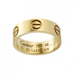 cartier Love ring Replica yellow gold B4084600