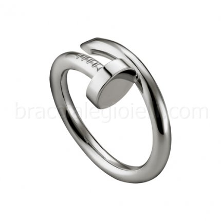 replica Cartier Juste un Clou ring in white gold B4099200