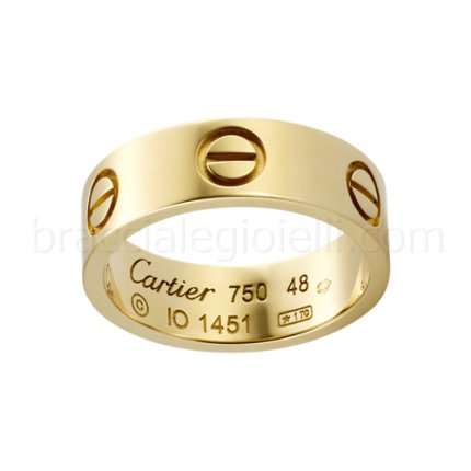 Replique Bague love cartier en or jaune B4084600