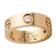 Bague love cartier
