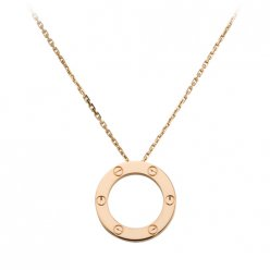 Réplique Collier Love Cartier en or rose B7014400